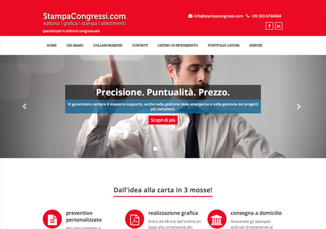 Website e Social media